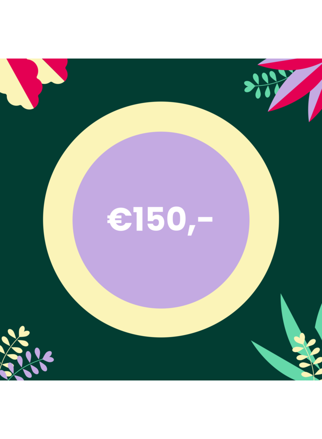 Digital Voucher - 150 euro