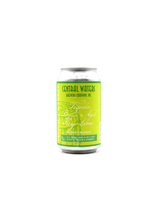 Central Waters - Brewer's Reserve Tequila Barrel Aged Key Lime