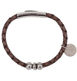 Armband Liz - Leer - Brown