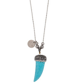 Ketting Tooth - Turquoise