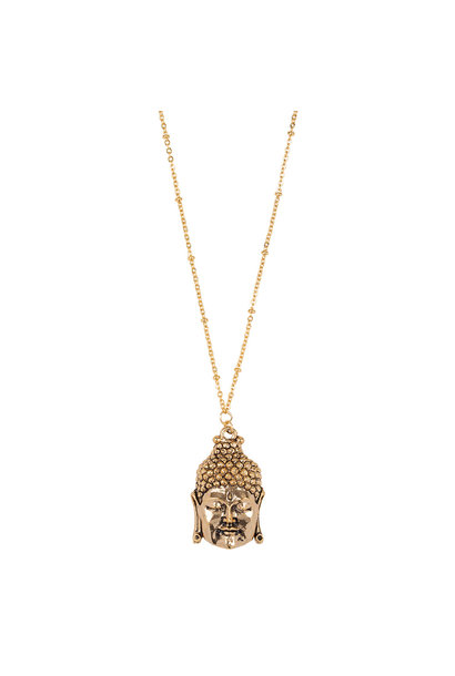 Ketting Buddha - goudkleurig
