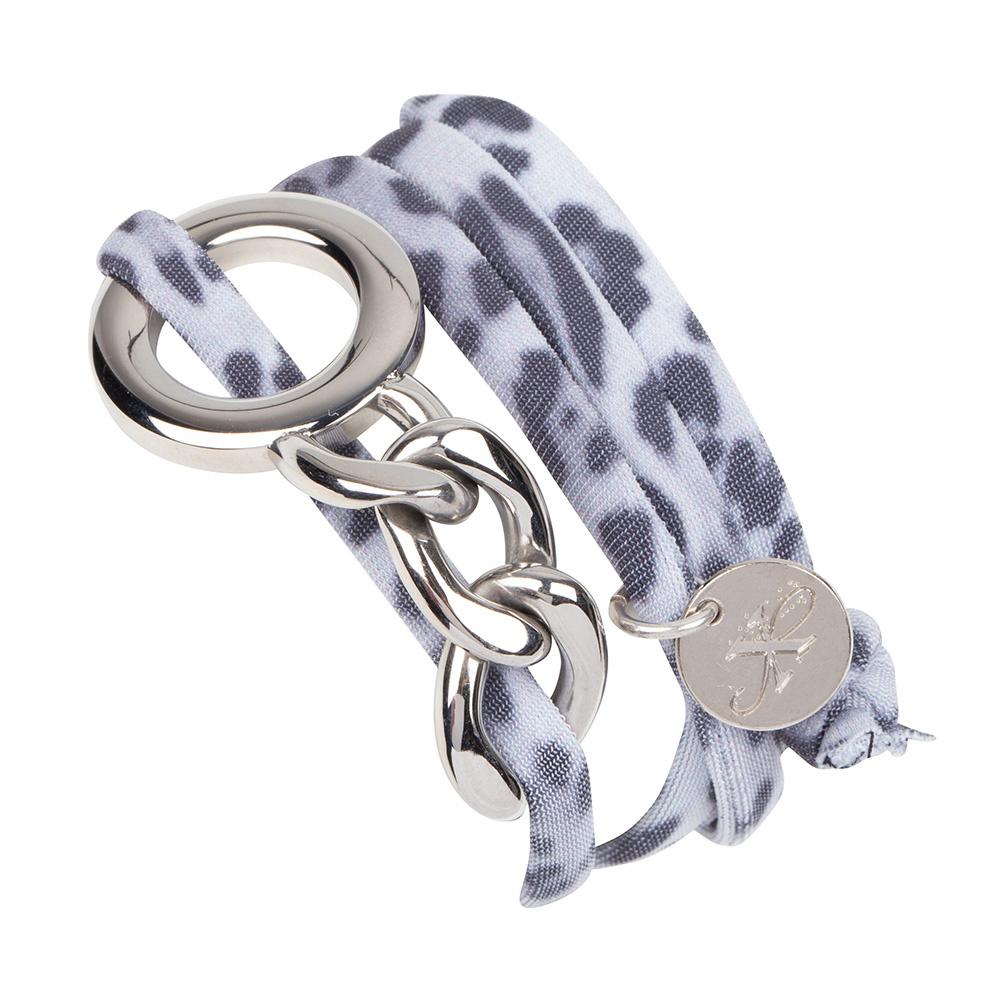 Armband Elsie - Leopard Black/White-1