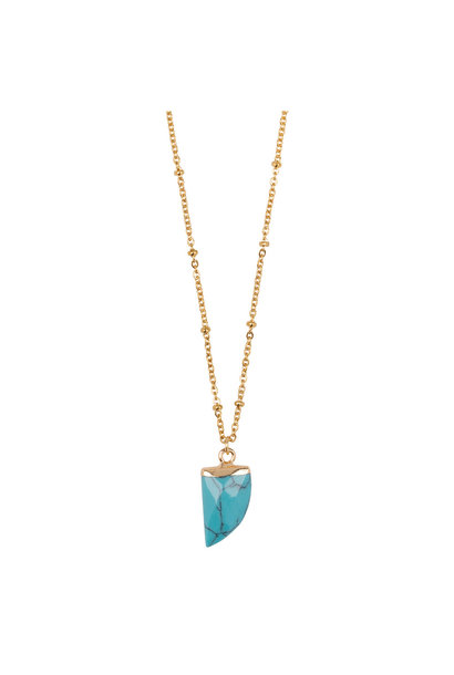 Ketting Little Tooth - Turquoise
