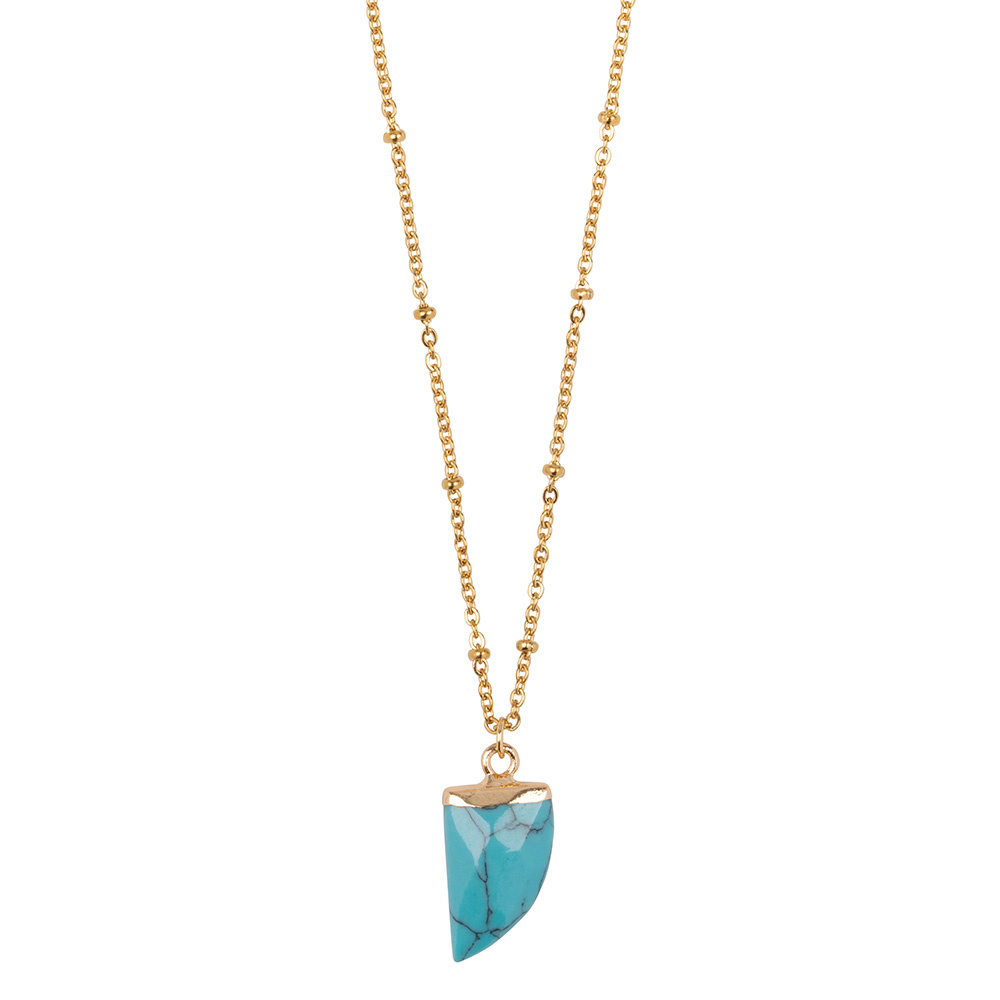 Ketting Little Tooth - Turquoise-1