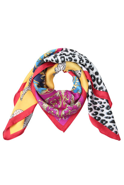 Bandana Colorful Leopard