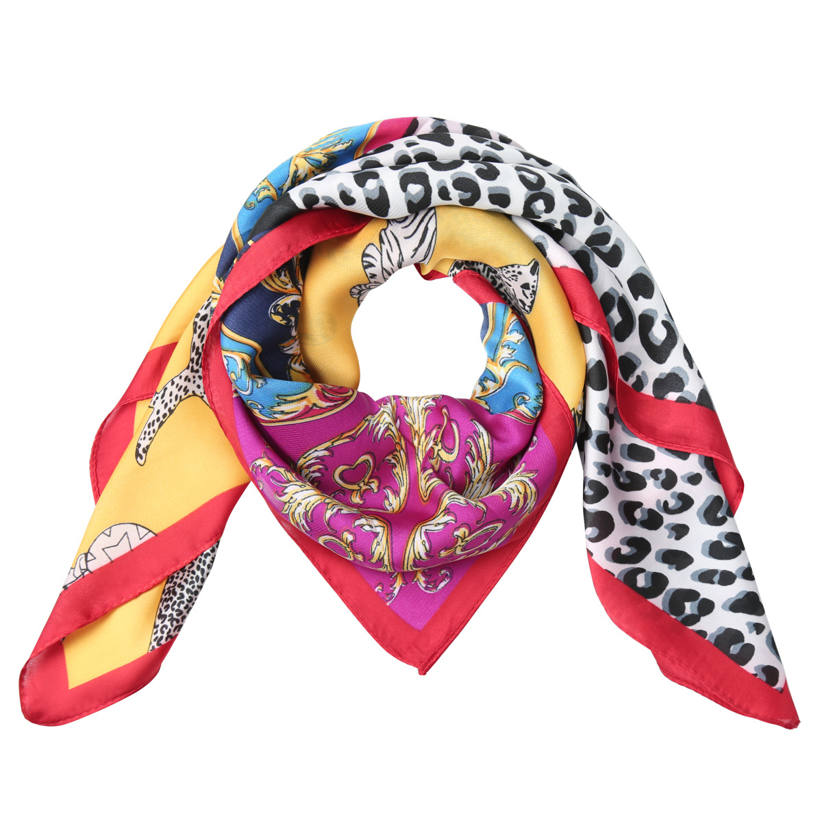 Bandana Colorful Leopard-1