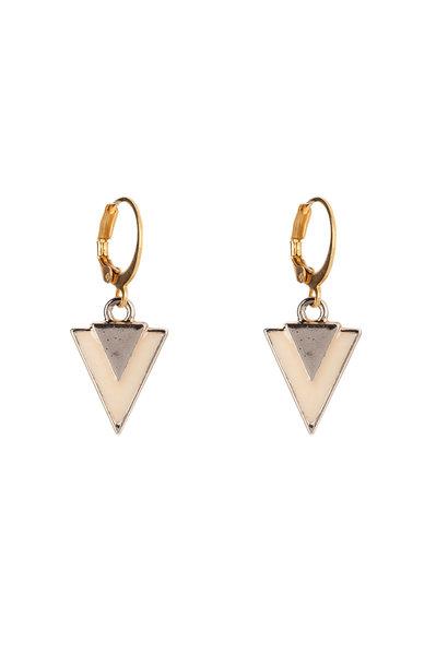 Oorbellen - Little triangle nude