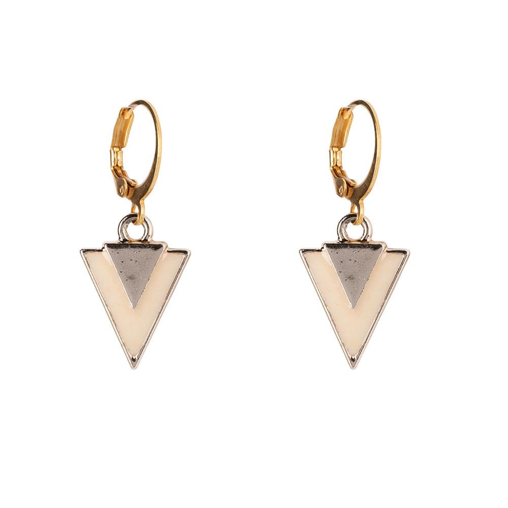 Oorbellen - Little triangle nude-1
