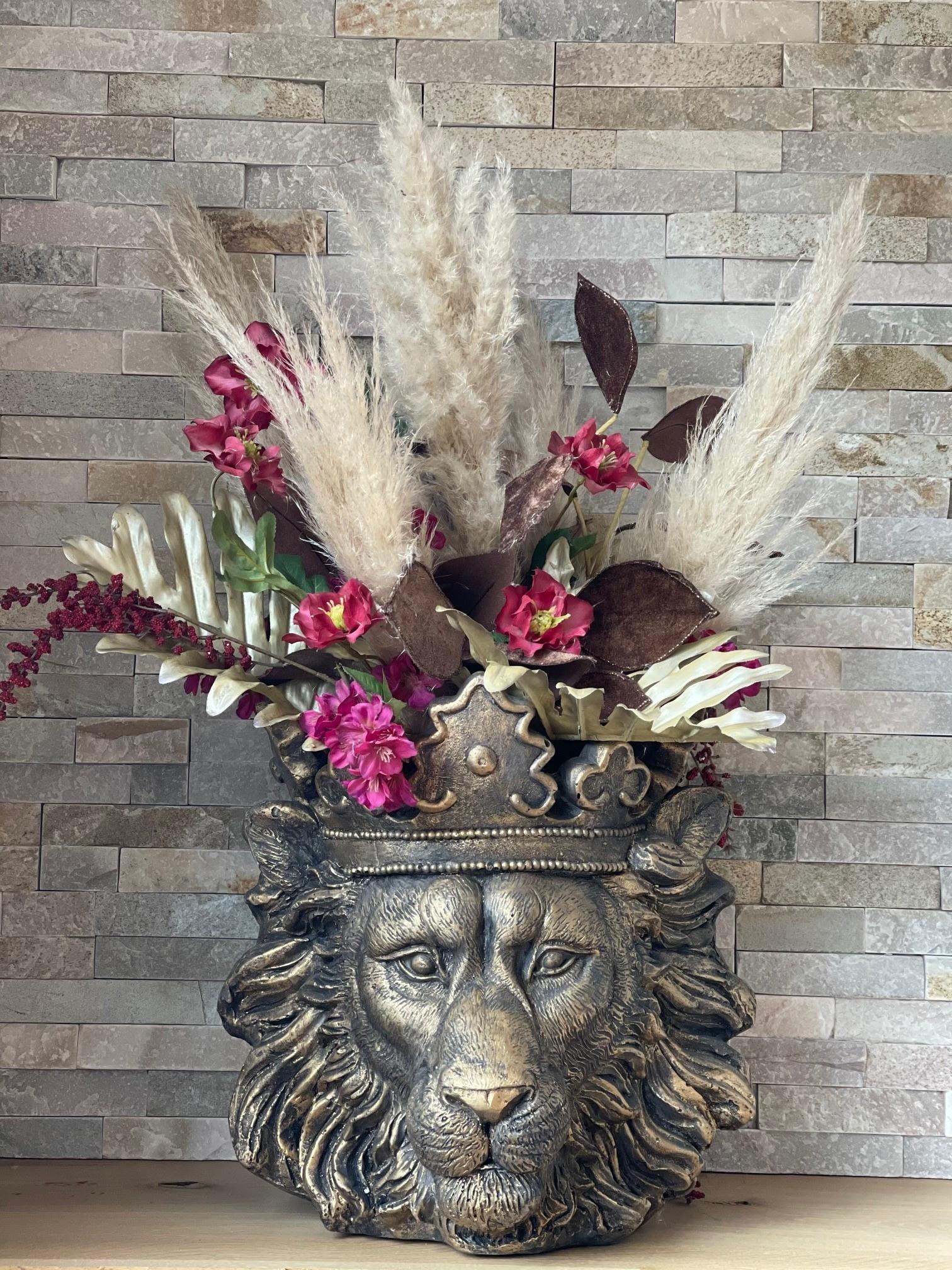 Lionhead plantenpot-2