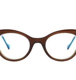 Anne et Valentin D Fine BROWN/BLUE