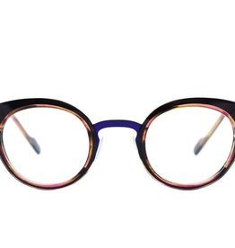 Anne et Valentin Fragola TORTOISE/PURPLE