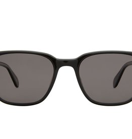 Garrett Leight Emperor 52 BLACK POLARISED