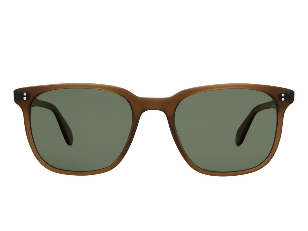 Garrett Leight Emperor 52 MATT ESPRESSO POLARISED