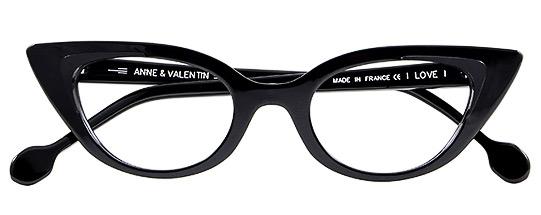 Anne et Valentin I Love BLACK
