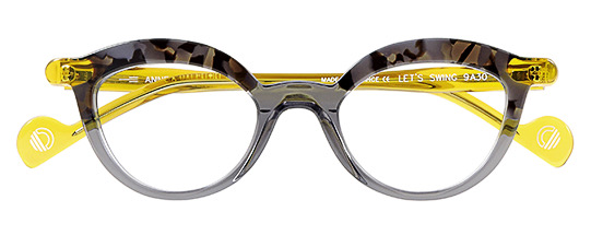 Anne et Valentin Lets Swing GREY/YELLOW