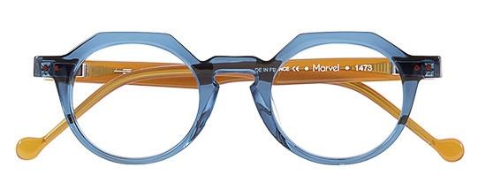 Anne et Valentin Marvel BLUE/BROWN