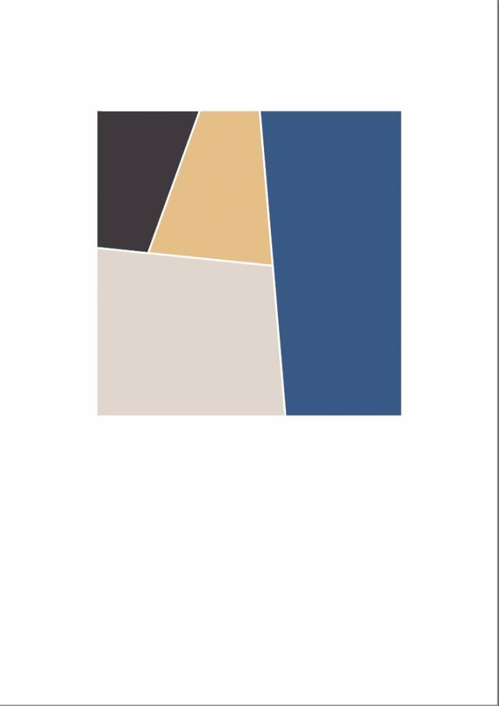 A4 POSTER Geometrisch 01