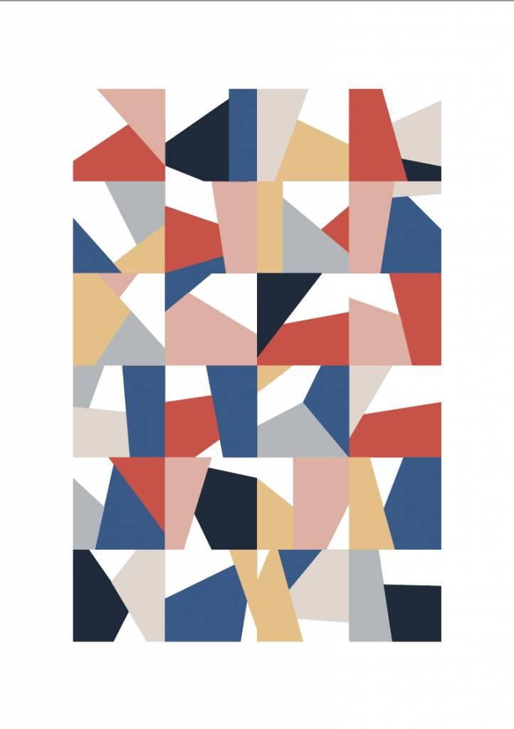 A4 POSTER Geometrisch 02