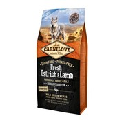 Carnilove in to the wild Carnilove Fresh Struisvogel 1,5 kg - Small Breed