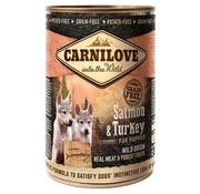 Carnilove in to the wild Carnilove blik Puppy 400 gram