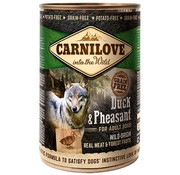 Carnilove in to the wild Carnilove blik Eend/Fazant 400 gram