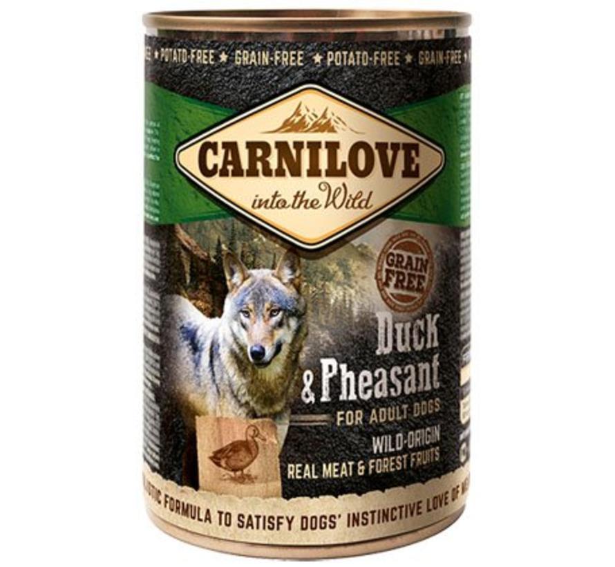 Carnilove blik Eend/Fazant 400 gram