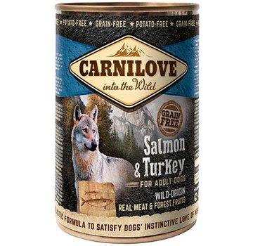 Carnilove in to the wild Carnilove blik Zalm/Kalkoen 400 gram