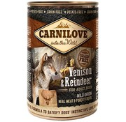 Carnilove in to the wild Carnilove blik Hert/Rendier 400 gram