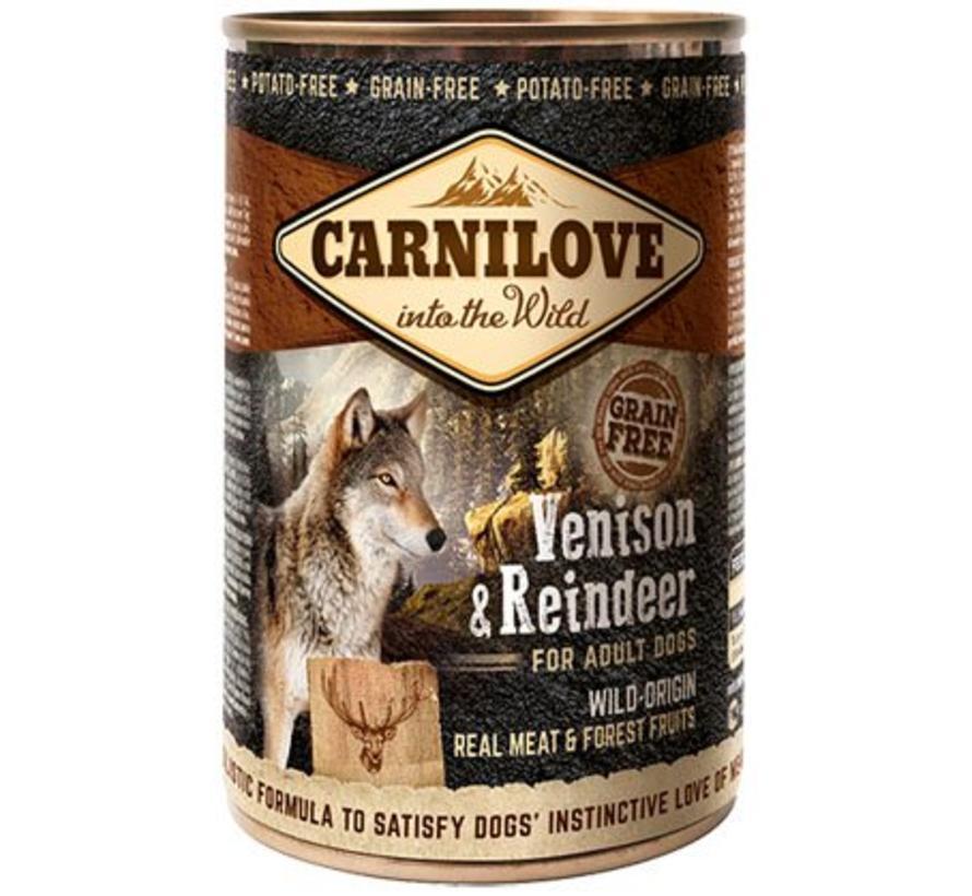 Carnilove blik Hert/Rendier 400 gram