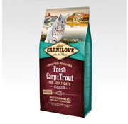 Carnilove in to the wild Carnilove Cat Fresh Karper