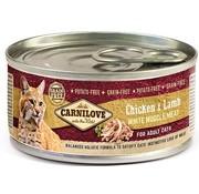 Carnilove in to the wild Carnilove blik Cat Lam 100 gram