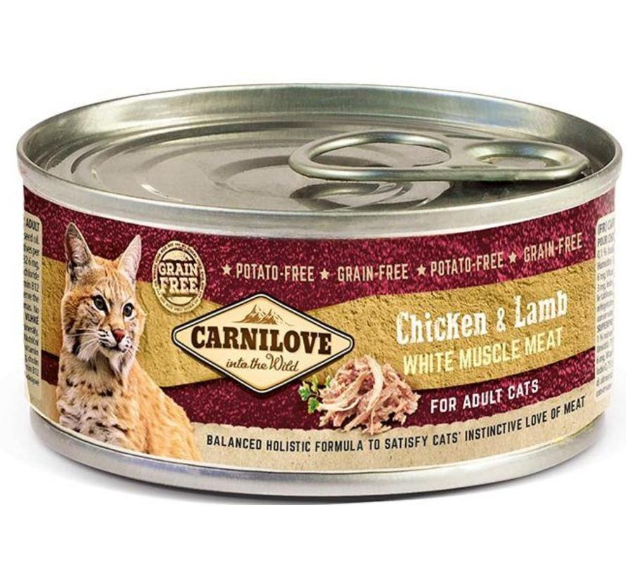 Carnilove blik Cat Lam 100 gram