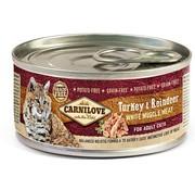 Carnilove in to the wild Carnilove blik Cat Rendier 100 gram
