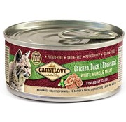 Carnilove in to the wild Carnilove blik Cat Eend 100 gram