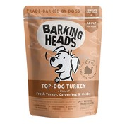 Barking Heads Barking Heads Wet Top Dog Turkey 300 gram