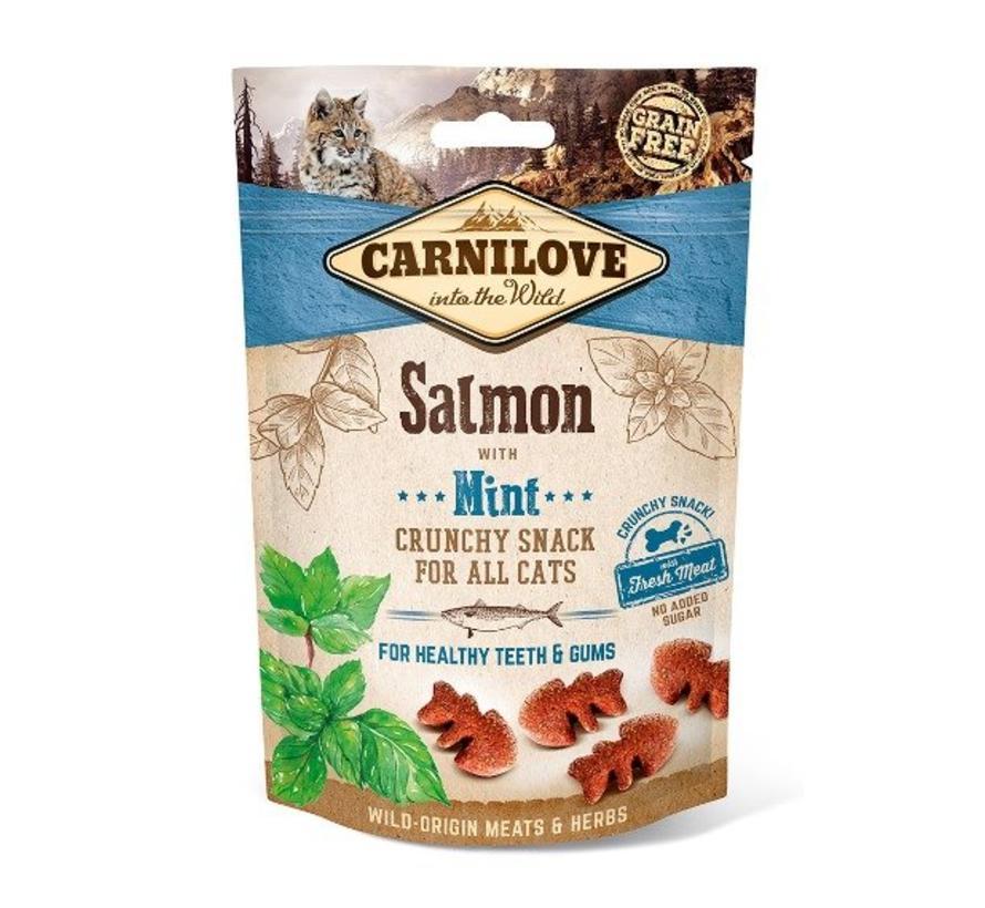 Carnilove Crunchy Zalm CAT 50 gram