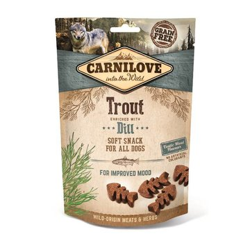 Carnilove in to the wild Carnilove Soft Snack Forel 200 gram