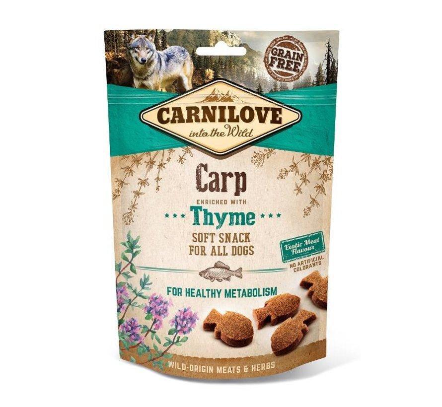 Carnilove Soft Snack Karper 200 gram