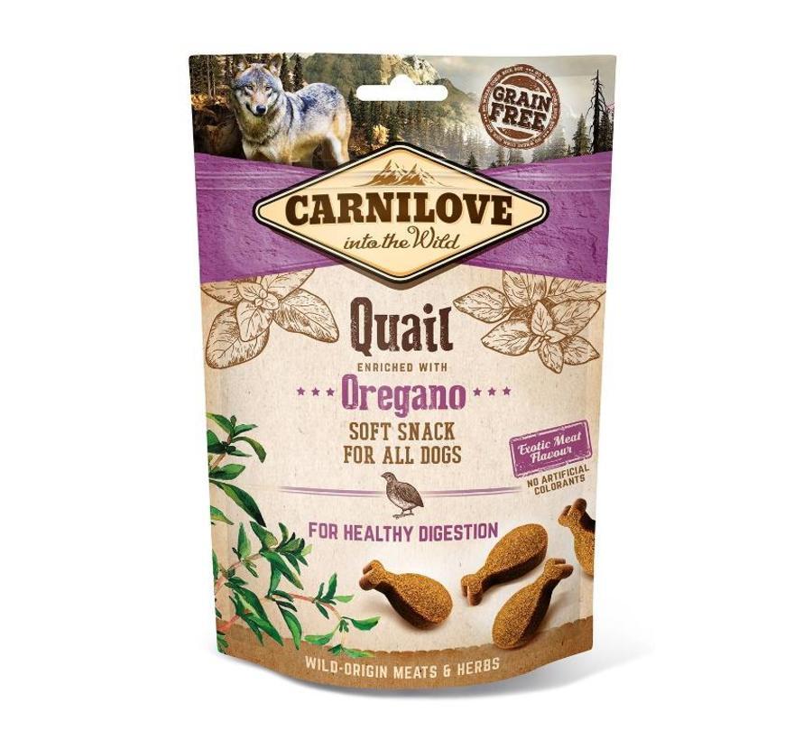 Carnilove Soft Snack Kwartel 200 gram