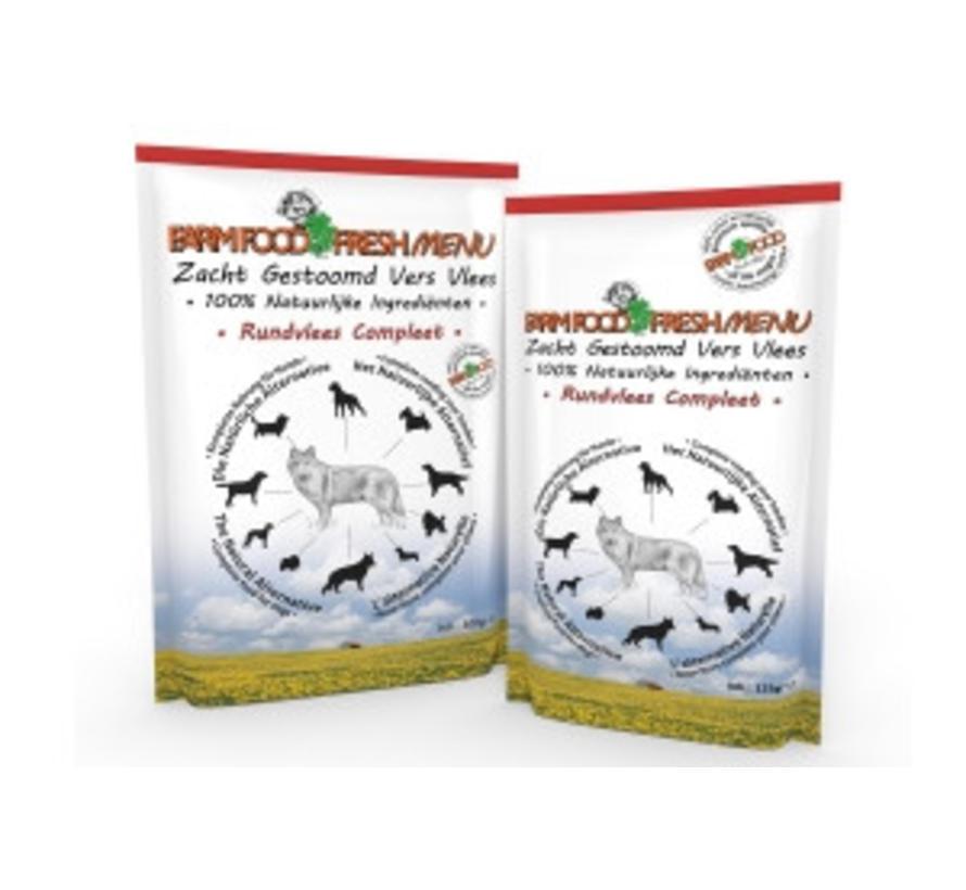 FarmFood Fresh Menu Rund 125 gram