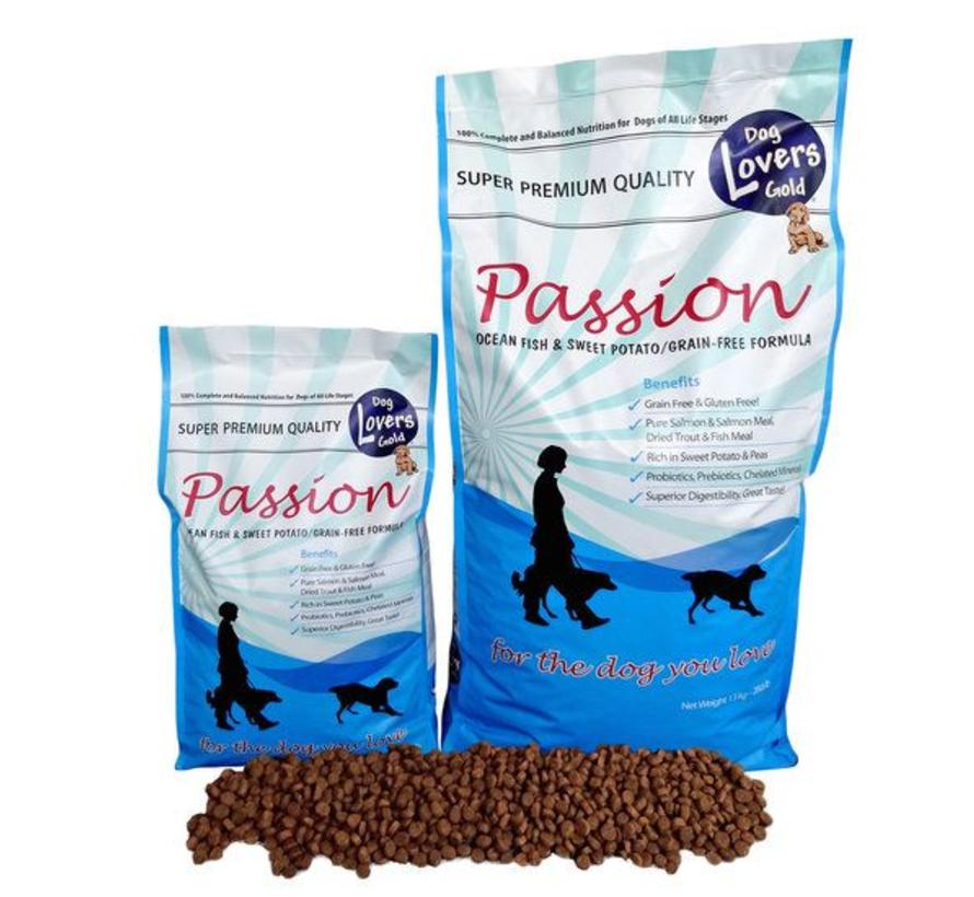 Dog Lovers Gold Passion Fish