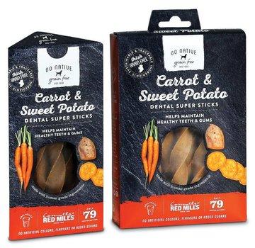 Go Native Go Native Super Dental Carrot 150 gram