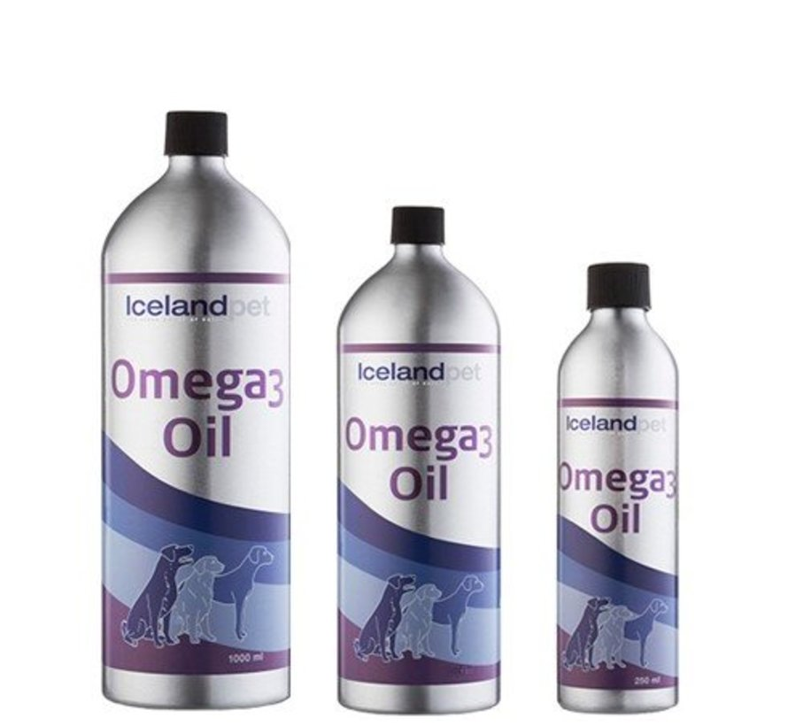 Icelandpet Omega 3 olie