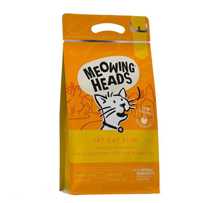 Meowing Heads Fat Cat Slim 1,5kg
