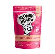 Meowing Heads Meowing Heads Wet Salmon 100 gram