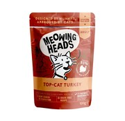 Meowing Heads Meowing Heads Wet Top Cat Turkey 100 gram