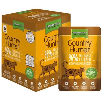 Natures Menu Natures Menu Country Hunter Cat Pouch Kip 85 gram