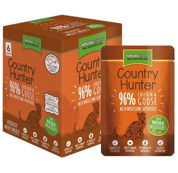 Natures Menu Natures Menu Country Hunter Cat Pouch Kip/Gans 85 gram