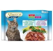 Stuzzy Cat Stuzzy Cat Kip/Kalf 4 x 100 gram