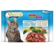 Stuzzy Cat Stuzzy Cat Kabeljauw/Zalm 4 x 100 gram